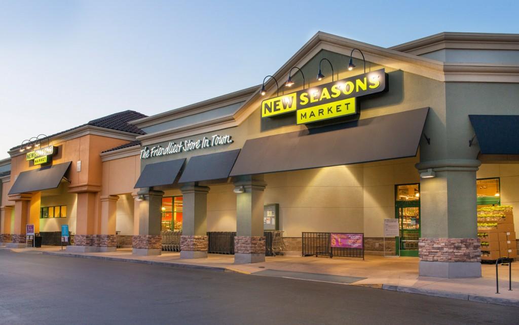 a new seasons market store entrance