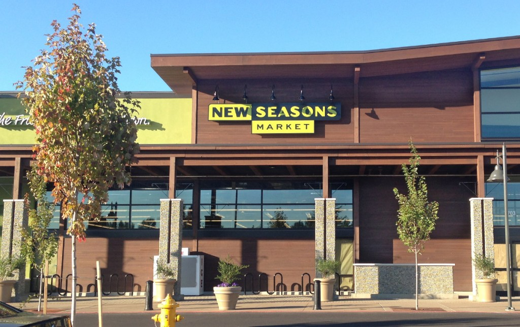 a new seasons store front