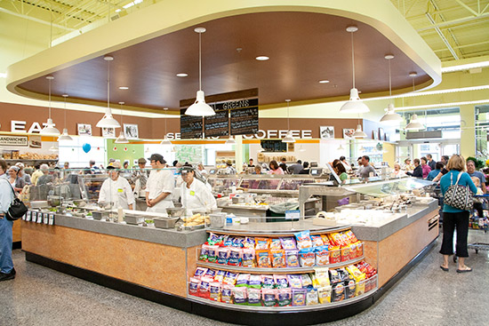 the view of a new seasons deli