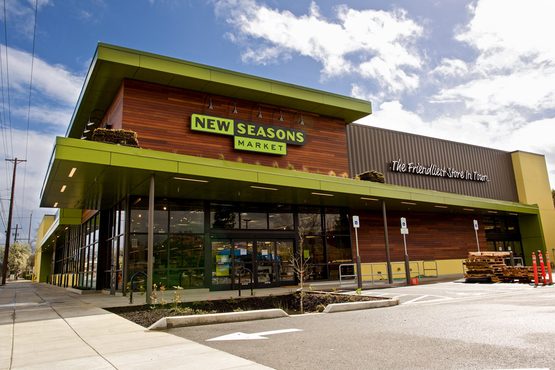 a new seasons store entrance