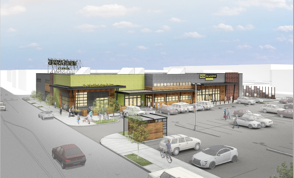 the design of a forthcoming new seasons market location