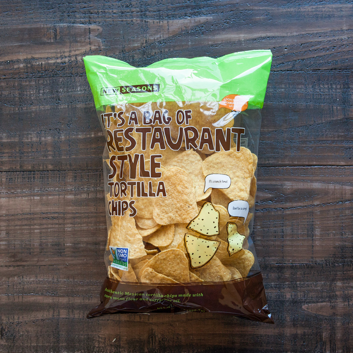 Bag of tortilla chips