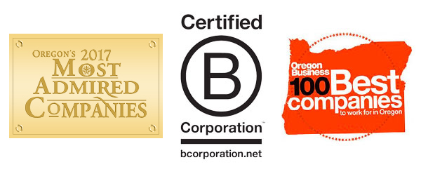 new seasons accolades oregon's most admired companies two thousand sixteen certified b corporation oregon business one hundred best companies to work for in oregon