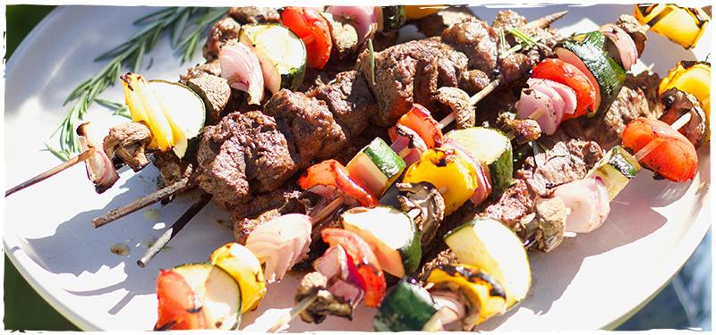 Amanda's Grass-fed Beef Kabobs